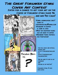 The Great Forsaken Stars Cover Art Contest by Robsojourn
