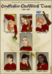 Gryffindor Quidditch Team by Harry-Potter-Spain