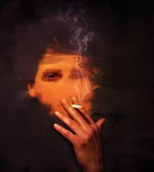 Wall Smoking by fantmayo