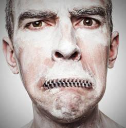 Zipper Mouth by fantmayo
