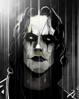 The Crow Large by PatN1980