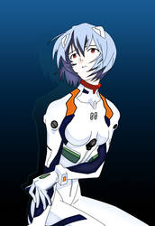 Rei Ayanami by Myth01