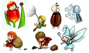 Fairy Compilation by Kringelkatze