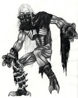 Soulreaver-inspiriertes Monster by Kringelkatze