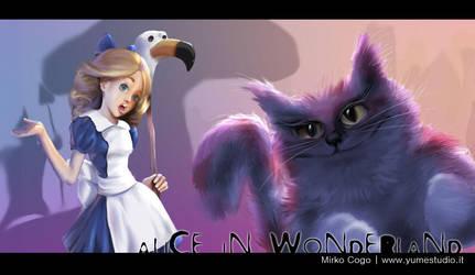 Alice in Wonderland by michan
