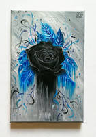 Blurred blue-black by Rayner80