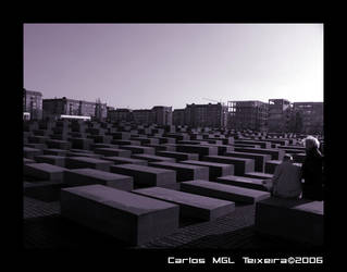 Holocaust Memorial I by Starkhyel