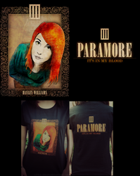 Hayley (T-Shirt Graphic) by Little--Decoy