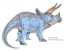 Triceratops Horridus by Carnosaur