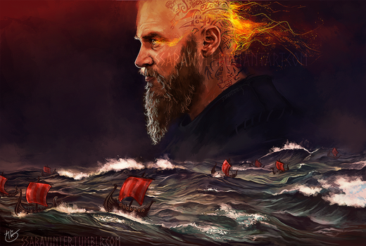 Wrath of the northmen by Ssarawolf