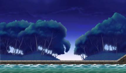 Water path Custom Background by EightQueens