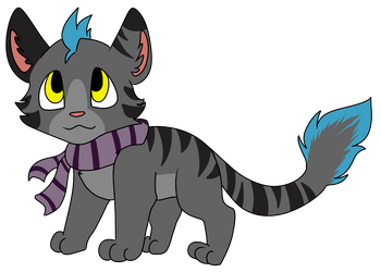 Skylasha Cat by EchoTheNeko