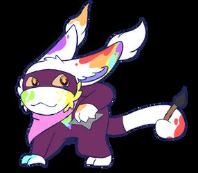Pebi Ninja by EchoTheNeko