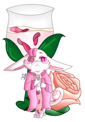 Rosewater and his namesake! by EchoTheNeko