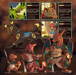 Pokemon Gaiden Misc. by OhDarnnitJerry