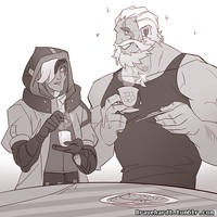 Tea time by DemonicSerpent101
