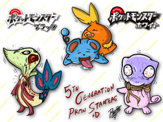 5th Generation Best Starters by Patrick-Theater