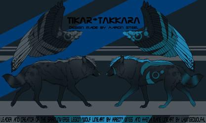 Tikar-Takkara Oc by lxWingedWolfxl