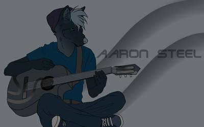 Tikar Playing Guitar by lxWingedWolfxl