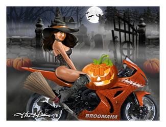 BroomahaFB by artist-tmichael