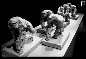 chimps by JBVendamme