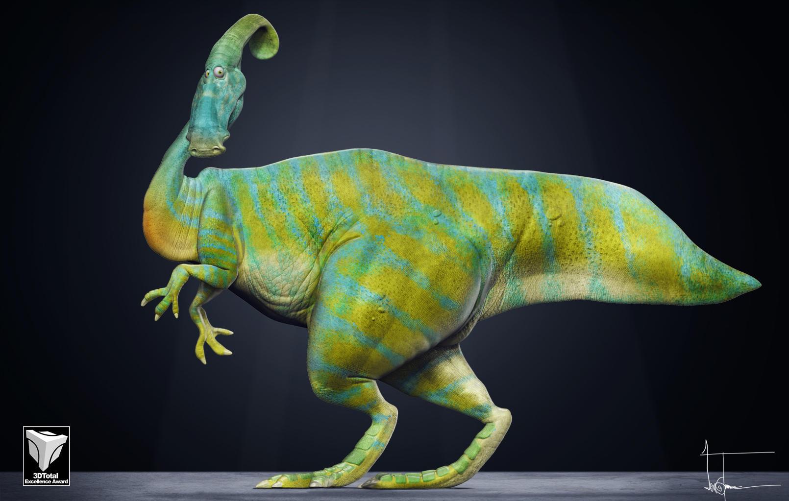parasaurolophus by JBVendamme