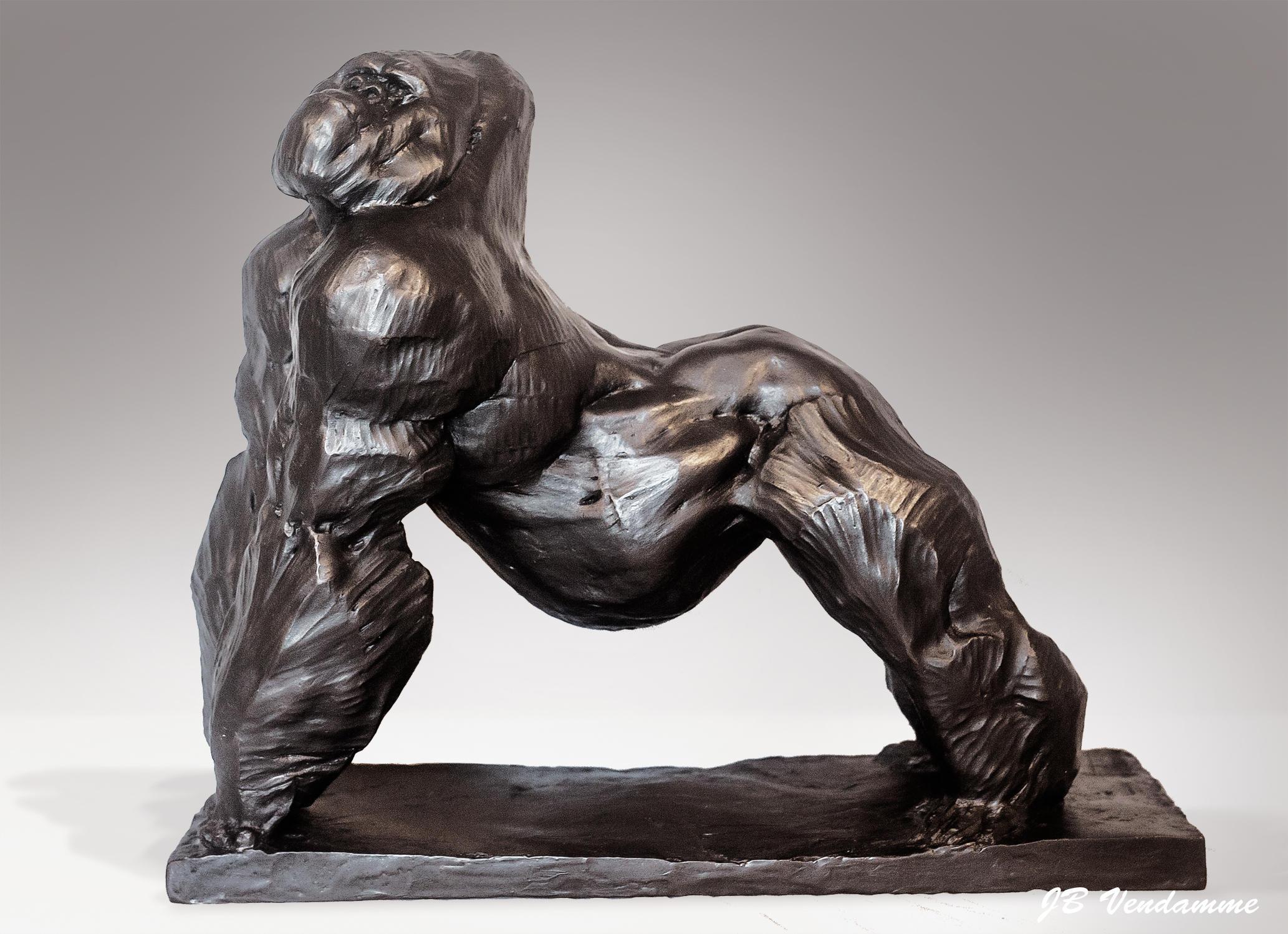 Bronze Silverback by JBVendamme
