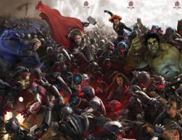 Avengers: Age of Ultron by MessyPandas