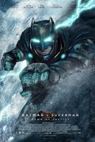 Batman V Superman Poster - Batman by MessyPandas