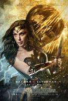 Batman V Superman Poster - Wonder Woman by MessyPandas
