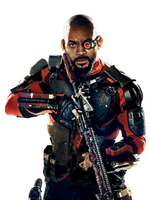 Deadshot EMPIRE cover PNG by MessyPandas