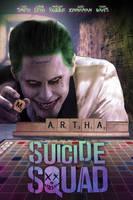 Suicide Squad Scrabble Poster by MessyPandas