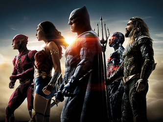 Justice League Banner Textless by MessyPandas