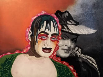 Leigh Bowery / Leigh Bowery.  by Hyperbot18