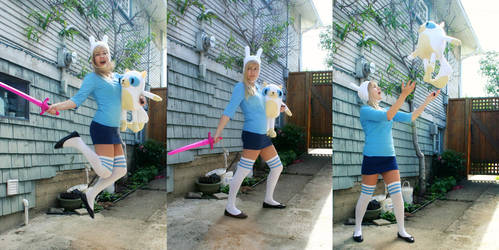 Fionna and Cake Preview by RainOwls