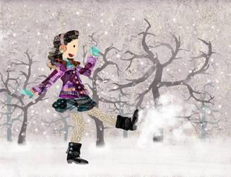 Snowmuch Fun by RainOwls