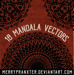 Mandala Vector Shapes by merrypranxter