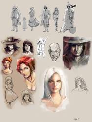 Sketches by PabloFernandezArtwrk