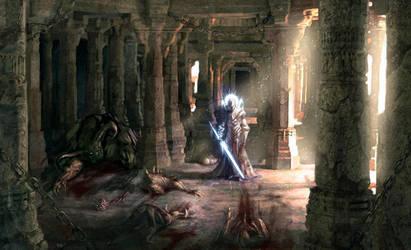 Holy Slayer by PabloFernandezArtwrk