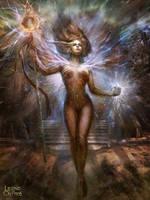 Inmortal Goddess of Victory (normal version) by PabloFernandezArtwrk