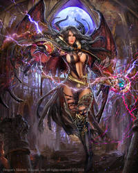Dragons Shadow Halfia by PabloFernandezArtwrk