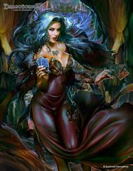 Dark Diviner by PabloFernandezArtwrk