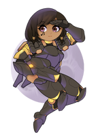 Ready for Duty! - Pharah by Inktswish