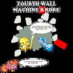 Fourth Wall Machine Broke (Censored Version) by AlbinoFluttershy