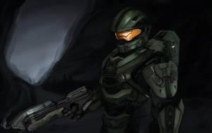 Halo 5: Master Chief by MoxyChann