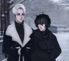 First Snow by MoxyChann