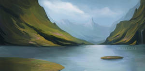 Vastterra Landscape by MoxyChann