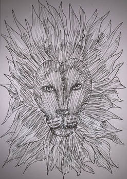 Lion by Brittanys-Creations