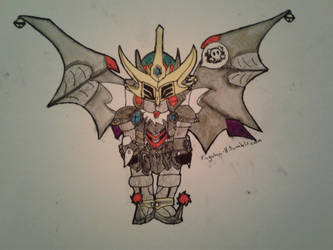 SD Gundam Force Advent Day 4 by LieutenantDork