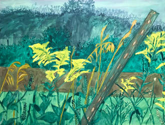 Landscape Painting by Laysay